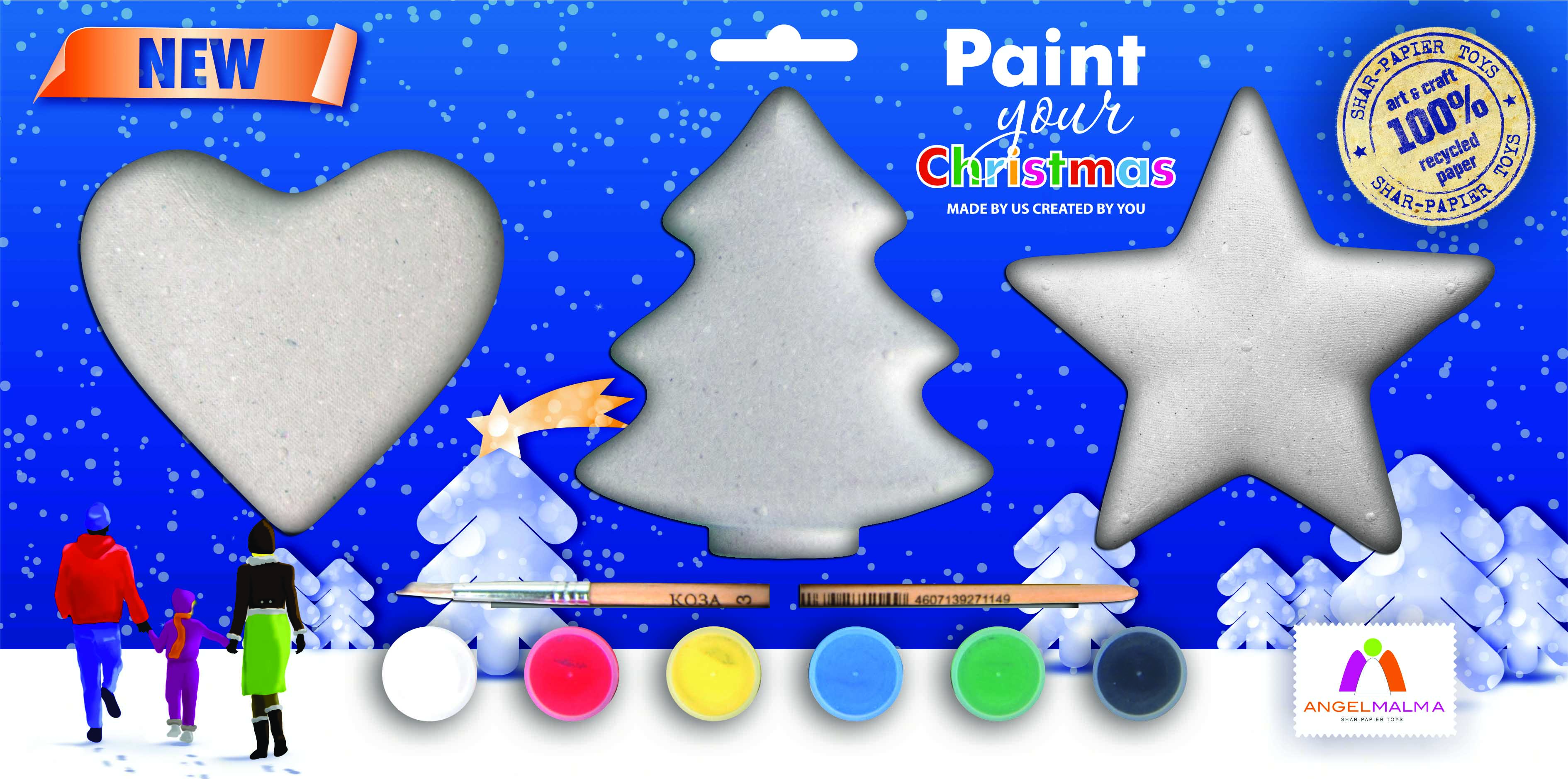 Paint your Christmas!